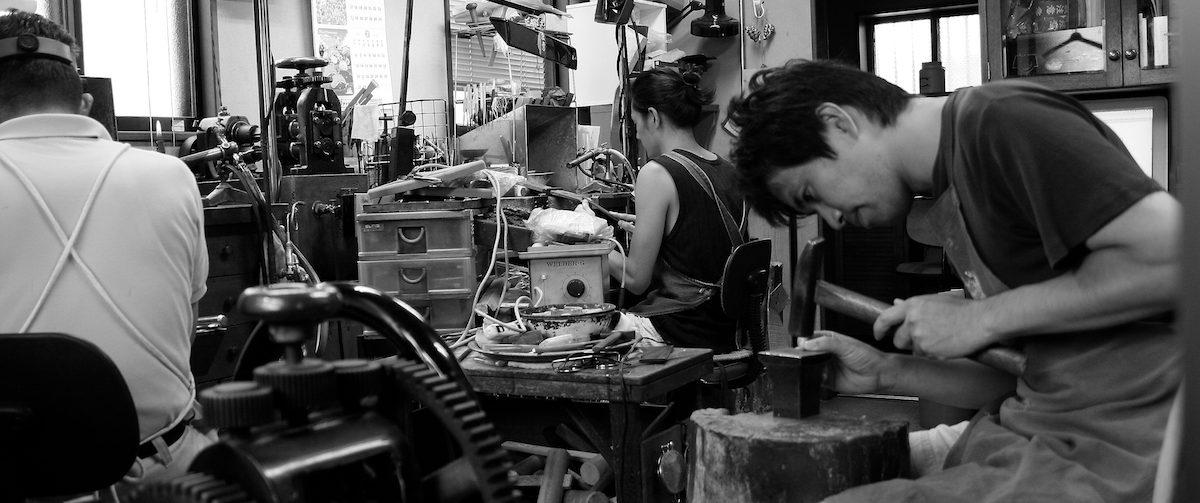 鍛造宝飾職人の製作日記